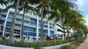 Atlantic Way Miami Beach stock footage