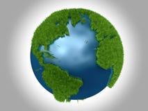 atlantic zielona oceanu planeta Zdjęcie Stock