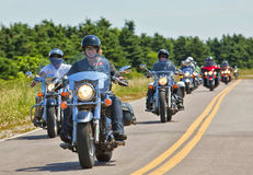 Atlanticade Motorcycle Rally 2012 Stock Photo