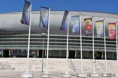 Atlantico Pavilion Pavilhao Atlantico in Lisbon, Portugal Stock Image
