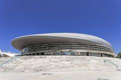 Atlantico paviljong/Pavilhao Atlantico - Lissabon Arkivbilder