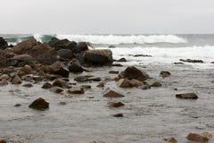 Atlantics-Meereswogen Lizenzfreie Stockfotos
