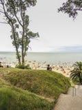 Atlantida Beach in Uruguay Royalty Free Stock Photo