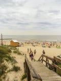 Atlantida plaża w Urugwaj obrazy royalty free