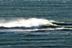 Atlantik bewegt in Patagonia wellenartig Lizenzfreie Stockbilder