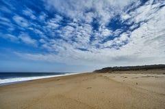 Atlantik-Ufer am Kap-Code Lizenzfreie Stockfotografie