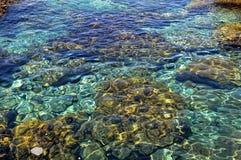 Atlantik-Wasser Stockbild