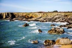 Atlantik-yeu Insel stockfotografie