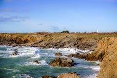 Atlantik-yeu Insel stockfoto