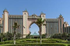 Atlantis, ο φοίνικας, Ντουμπάι Στοκ φωτογραφία με δικαίωμα ελεύθερης χρήσης