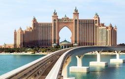 Atlantis το ξενοδοχείο φοινικών στο Ντουμπάι, στοκ εικόνες με δικαίωμα ελεύθερης χρήσης