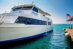 Atlantis Adventure boat mooring Stock Images