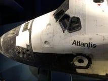 Atlantis auf Anzeige bei Kennedy Space Center lizenzfreies stockfoto