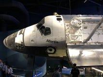 Atlantis auf Anzeige bei Kennedy Space Center stockbilder