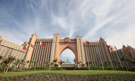 Atlantis auf Palme Jumeirah in Dubai Stockbild