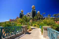 Atlantis in Bahamas Royalty Free Stock Photography