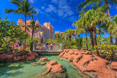 Atlantis in Bahamas Royalty Free Stock Images