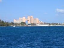 atlantis bahamas nassau semesterort Arkivbild