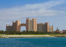 atlantis bahamas semesterort arkivbild