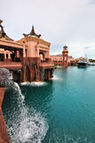 Atlantis, console do paraíso fotos de stock