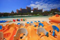 Atlantis in de Bahamas Stock Afbeeldingen