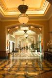 The Atlantis, Dubai. Hallway in Hotel Atlantis, the Palm in Dubai Stock Image