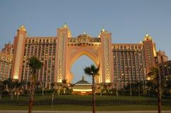 atlantis dubai hotell Royaltyfri Foto