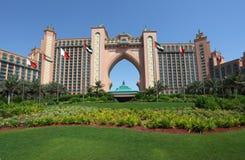 atlantis Dubai hotelu palma zdjęcia royalty free