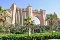 atlantis Dubai hotelu palma zdjęcie stock