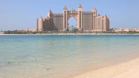 atlantis Dubai hotelu palma zbiory wideo