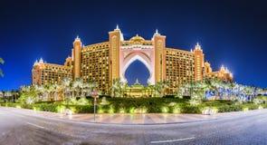 Atlantis Dubaj obraz stock