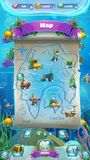 Atlantis fördärvar GUI - jämn översikt för mobilt format Royaltyfri Fotografi