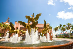 Atlantis Fountain - Horse Royalty Free Stock Photo