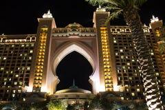 Atlantis gömma i handflatan Dubai Royaltyfri Fotografi