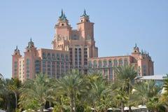 Atlantis gömma i handflatan på gömma i handflatan Jumeirah, Dubai Royaltyfria Bilder