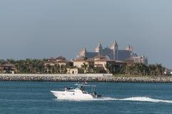 Atlantis gömma i handflatanhotellet i Dubai, United Arab Emirates Arkivfoton