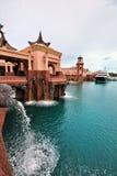 Atlantis, het Eiland van het Paradijs Stock Foto's