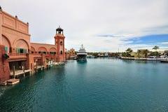 Atlantis, het Eiland van het Paradijs Stock Fotografie