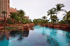 Atlantis, het Eiland van het Paradijs stock afbeelding