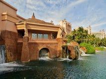 Atlantis-Hotel Stockfoto
