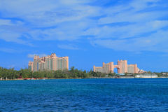 Atlantis Hotel in Bahamas Royalty Free Stock Photography