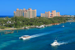 Atlantis Hotel in Bahamas Stock Photos