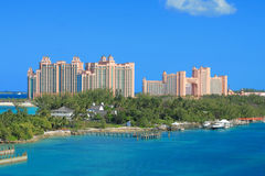 Atlantis Hotel in Bahamas Royalty Free Stock Image