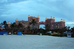 Atlantis Hotel Bahamas. Royal Tower at Atlantis Hotel on Paradise Island in Bahamas Stock Photography