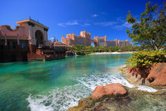 Atlantis Hotel in Bahamas2 Stock Images