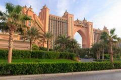 Atlantis-Hotel in Dubai Lizenzfreies Stockbild