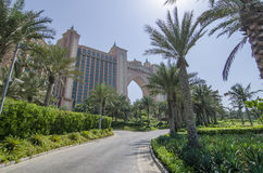 Atlantis hotel in dubai Royalty Free Stock Photo