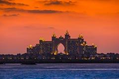 Atlantis Hotel  in Dubai. UAE. November 17, 2012 Stock Photography