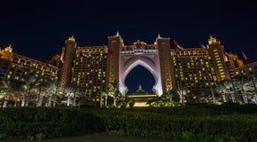 Atlantis Hotel in Dubai. UAE Royalty Free Stock Photos