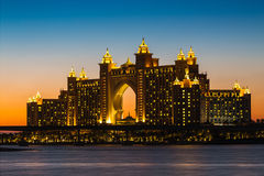 Atlantis Hotel in Dubai. UAE Royalty Free Stock Photos